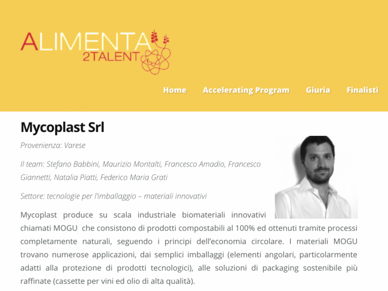 Mycoplast is Winner Alimenta 2 Talent