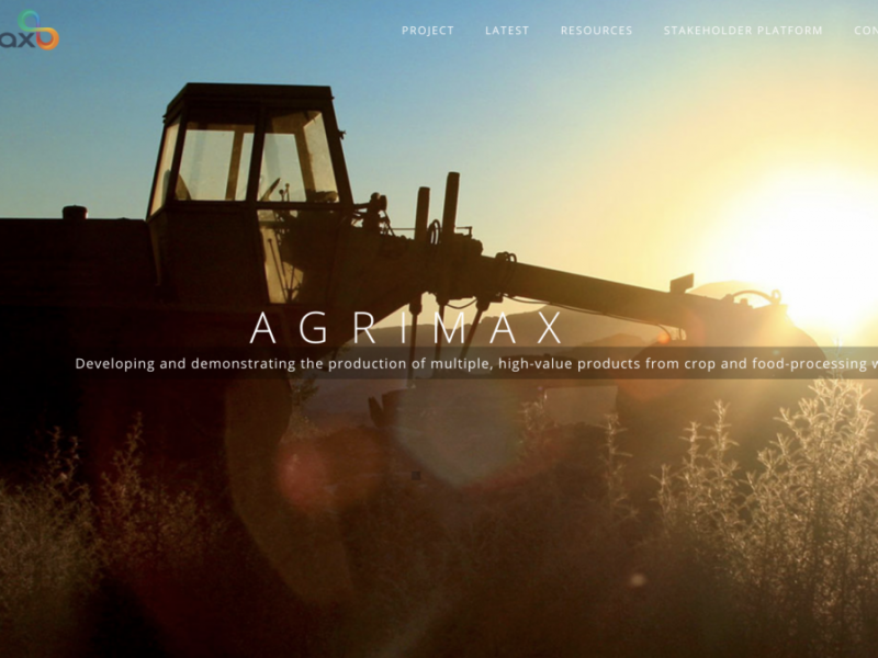 AGRIMAX – BBI Horizon 2020 – Awarded project
