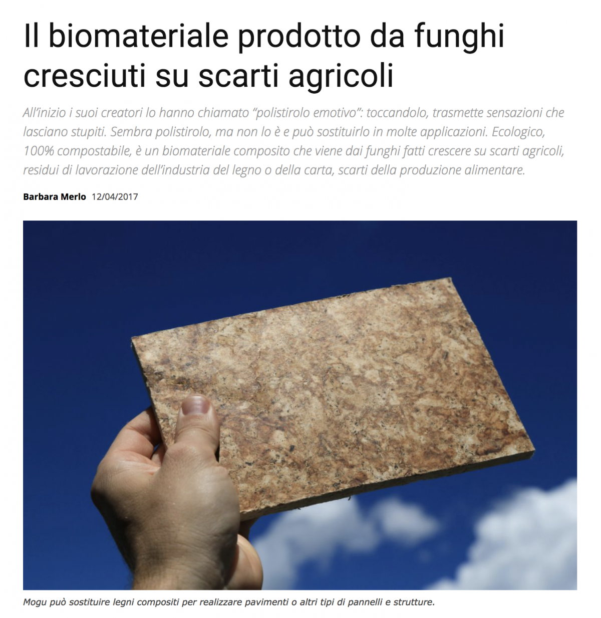 il Progettista Industriale – press article