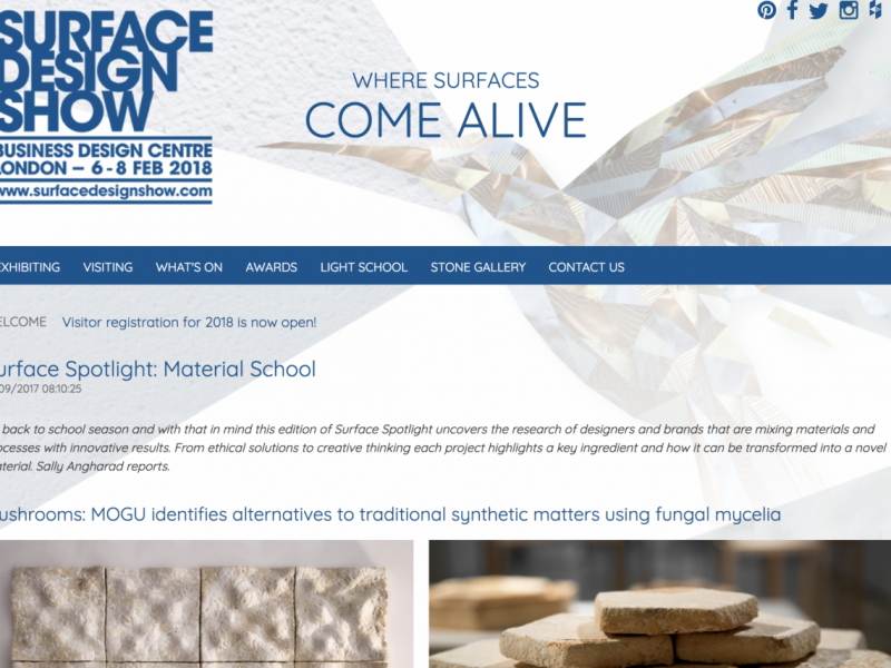 Surface Design Show – MOGU in the Spotlight