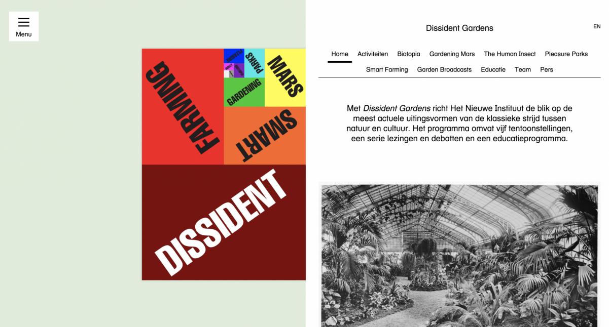MOGU @Dissident Gardens/Biotopia – Het Nieuwe Instituut – Rotterdam (NL)