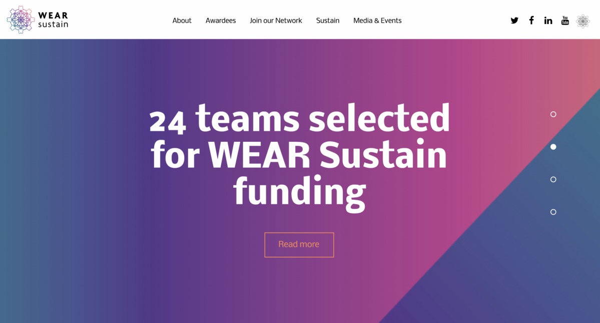 Wear Sustain – Development Grant