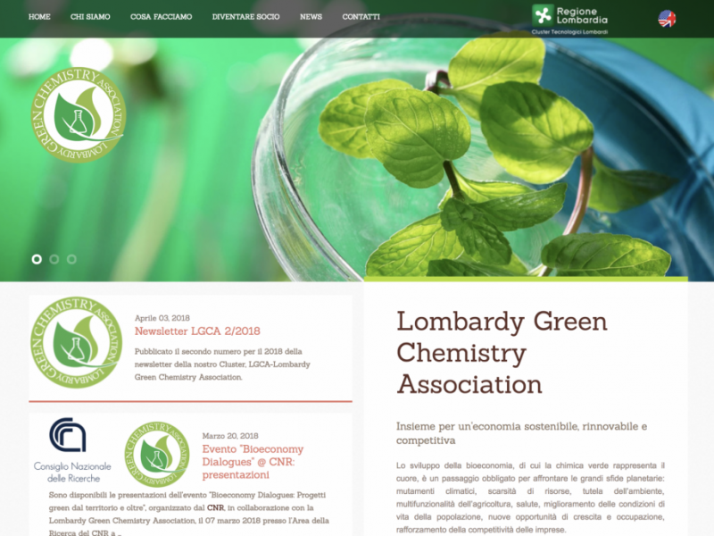 Lombardy Green Chemistry – press article
