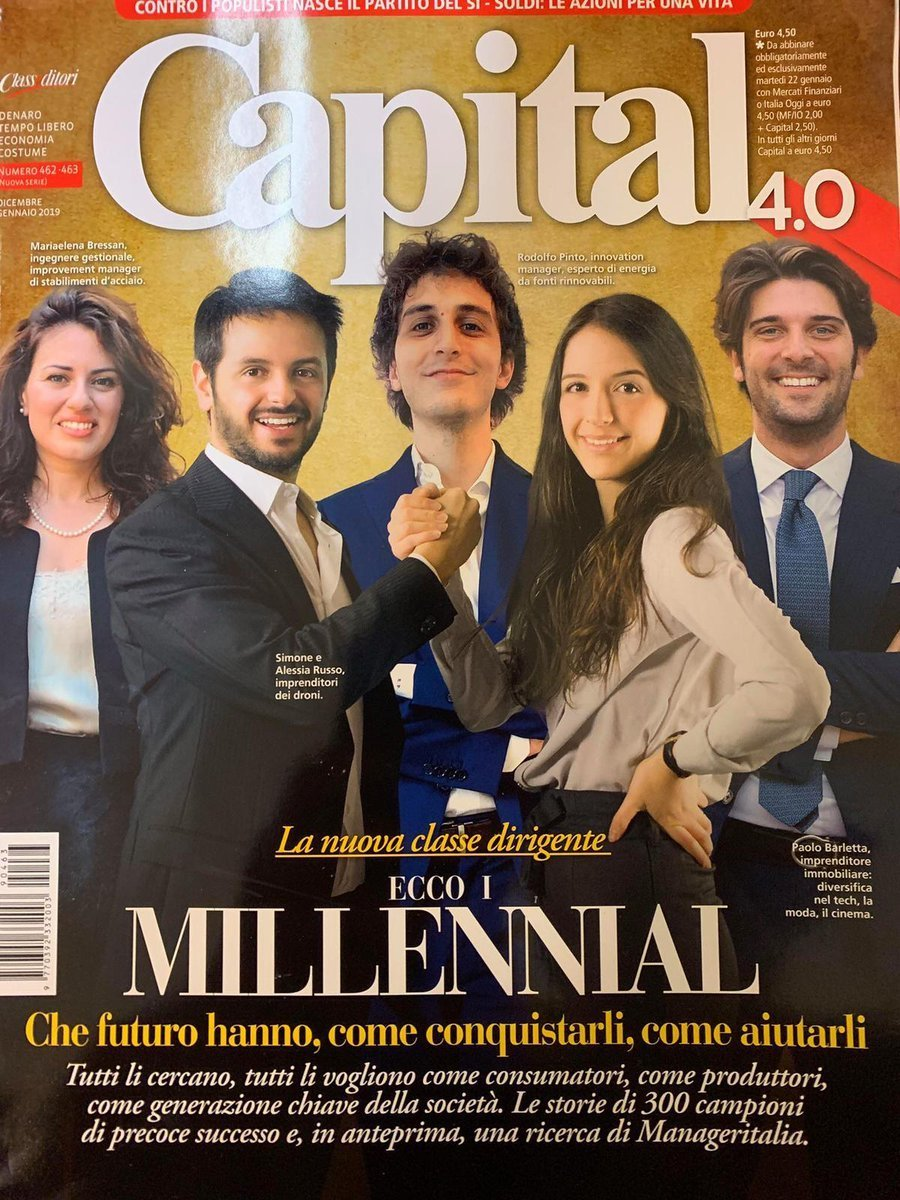 Millennials – The New Management @Capital 4.0 Magazine – Article/Award