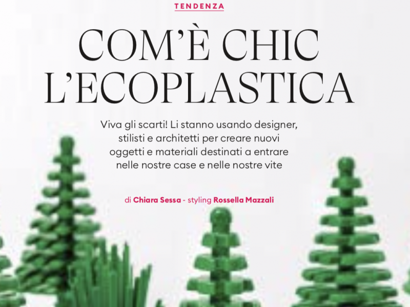 How Chich are Eco-Materials @Donna Moderna – Article
