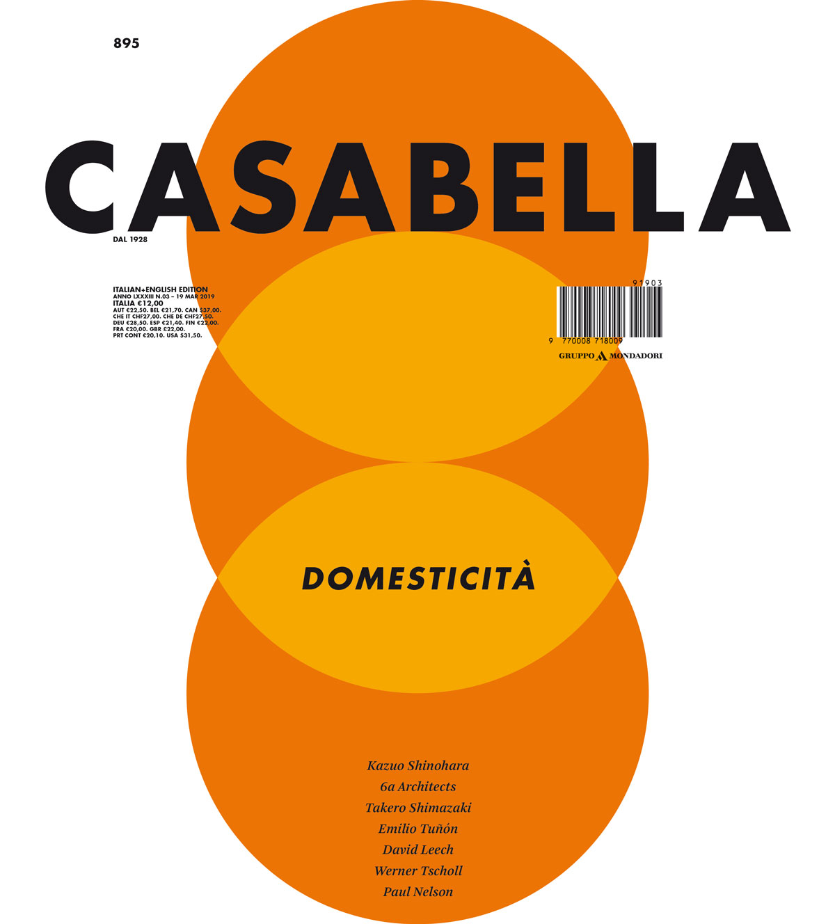 New Materials Dossier @Casabella (IT) – Article