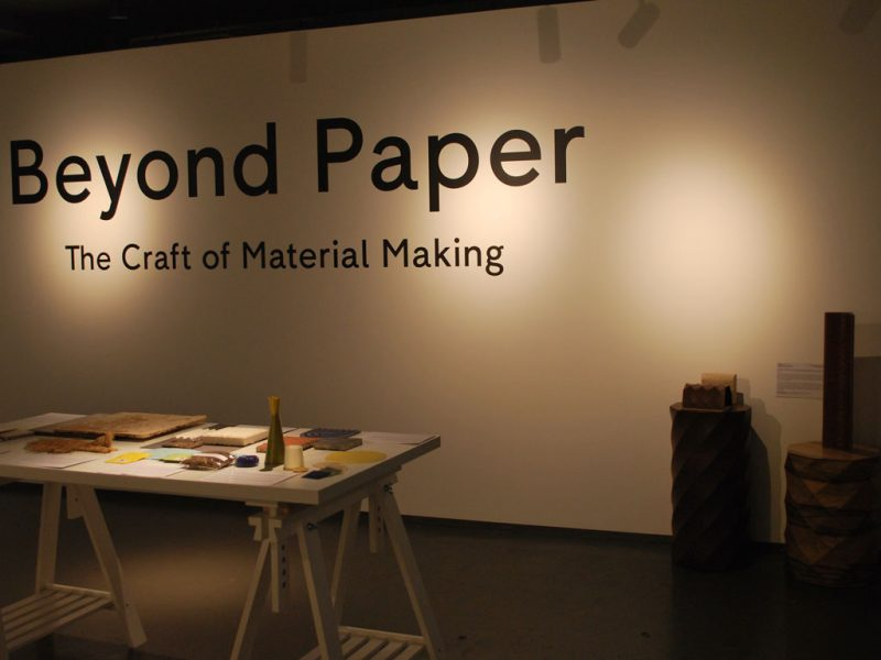 Beyond Paper @London Craft Week – London (UK) – Exhibition