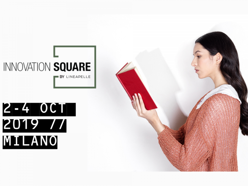 Lineapelle Innovation Square 2-4 Oct 2019 – Milano (IT) – Public Talk & Exhibition