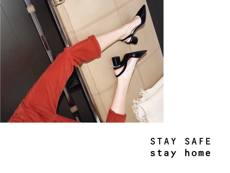 // STAY SAFE – STAY HOME //