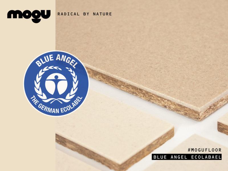 MOGU FLOOR // CERTIFIED WITH BLUE ANGEL ECOLABEL