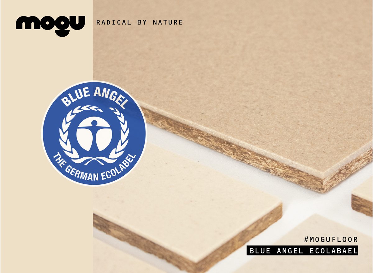 MOGU FLOOR // CERTIFIED WITH BLUE ANGEL ECOLABEL