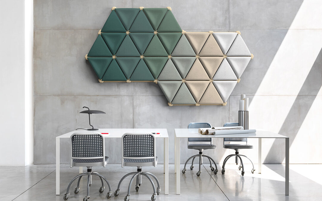 FORESTA ACOUSTIC SYSTEM //  The new solution for workplaces