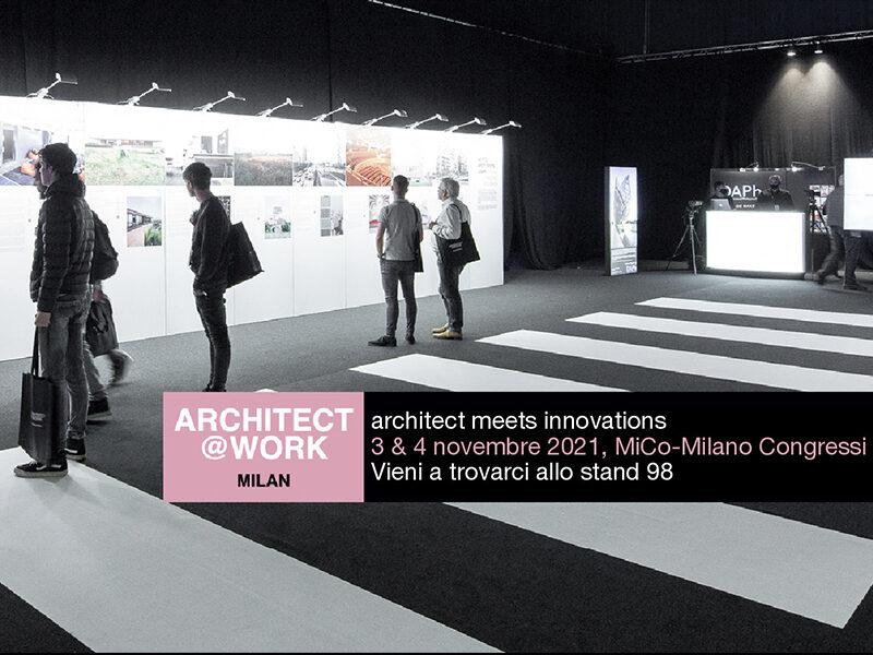 MOGU AGENDA // ARCHITECT@WORK – ARCHITECT MEETS INNOVATIONS
